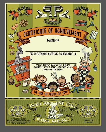 Certificate of Acheivement