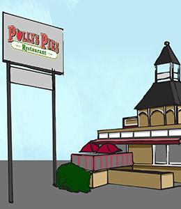 Polly's Pies Long Beach Exterior