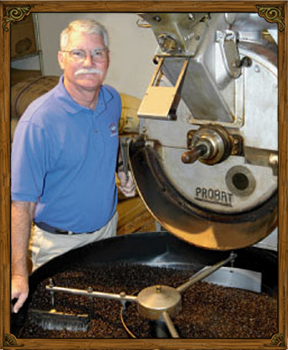 Pollys Pie's Brand of Excellence Polly's Gourmet Coffee