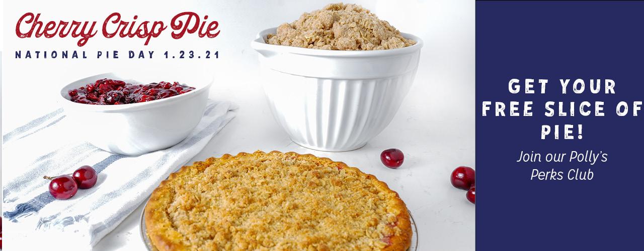 Cherry Crisp Pie