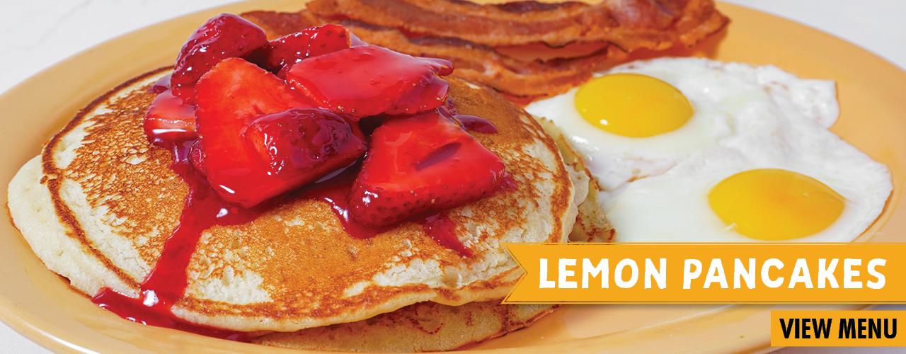 Lemon Pancakes. View Menu.