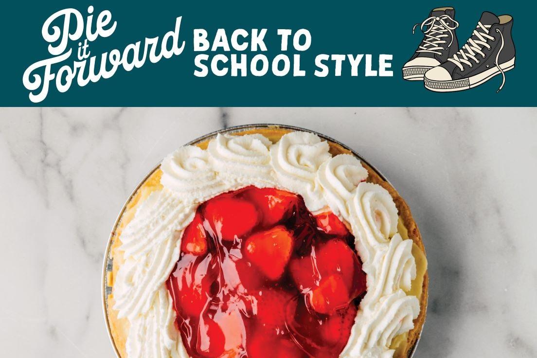 Pie it Forward - Back to School Style